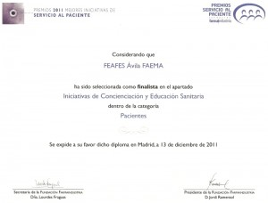 PREMIOS FARMAINDUSTRIA